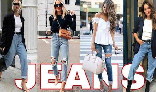 jeans moda mujeres